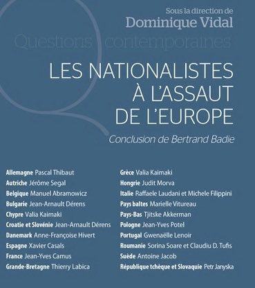 "UN LIVRE QUI VIENT À POINT : ""LES NATIONALISTES À L'ASSAUT DE L'EUROPE"""
